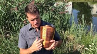 Almighty Wooden Cremation Urn