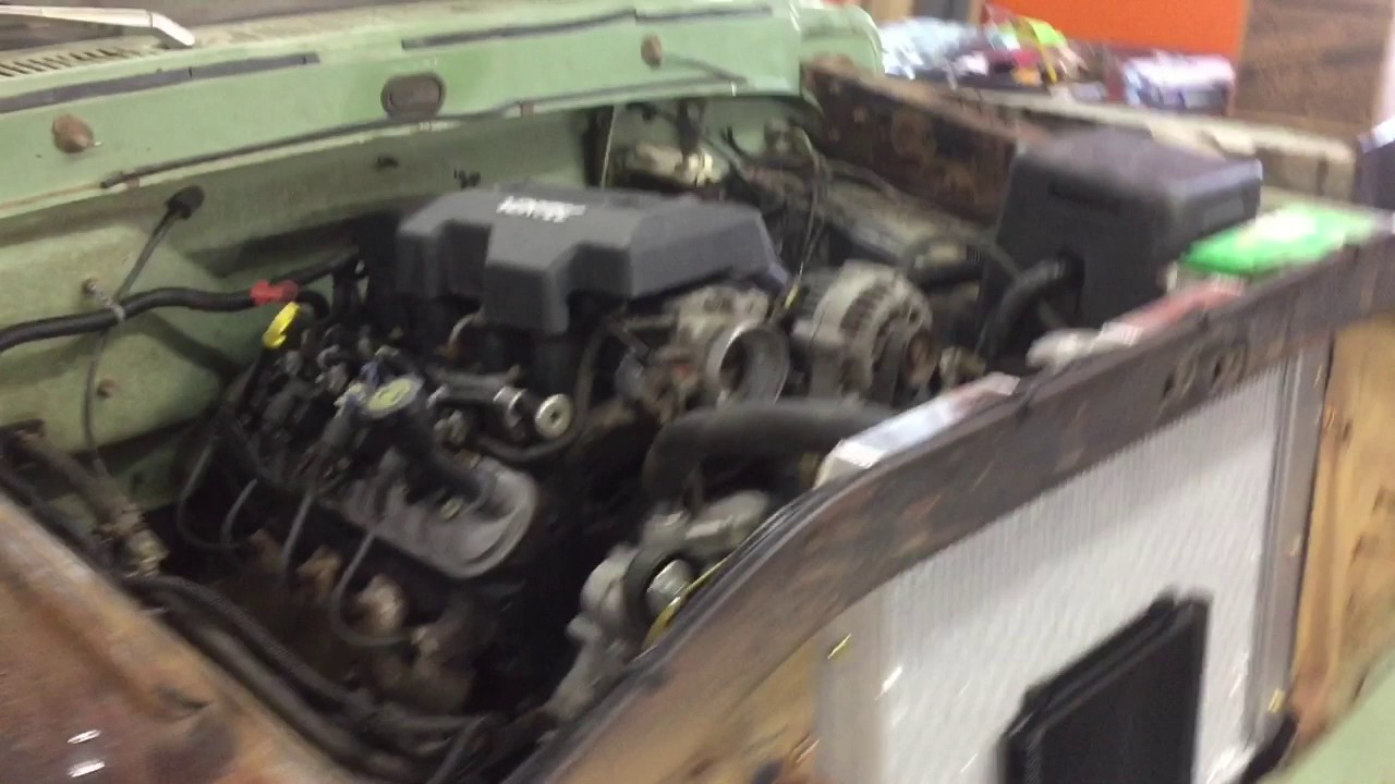 1971 Ford F100 LS Swap First Startup