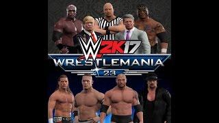 WWE 2k17 Wrestlemania 23 Highlights