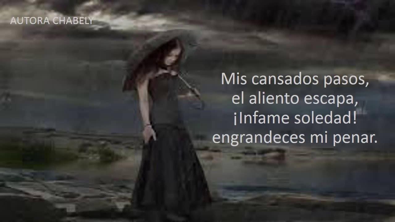 Imagenes De Soledad De Mujeres: LLORA MI ALMA[POEMA TRISTE] [POEMA DE SOLEDAD] [POEMA DE
