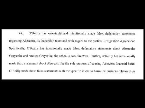International School of Texas and Grainne O'Reilly Sued