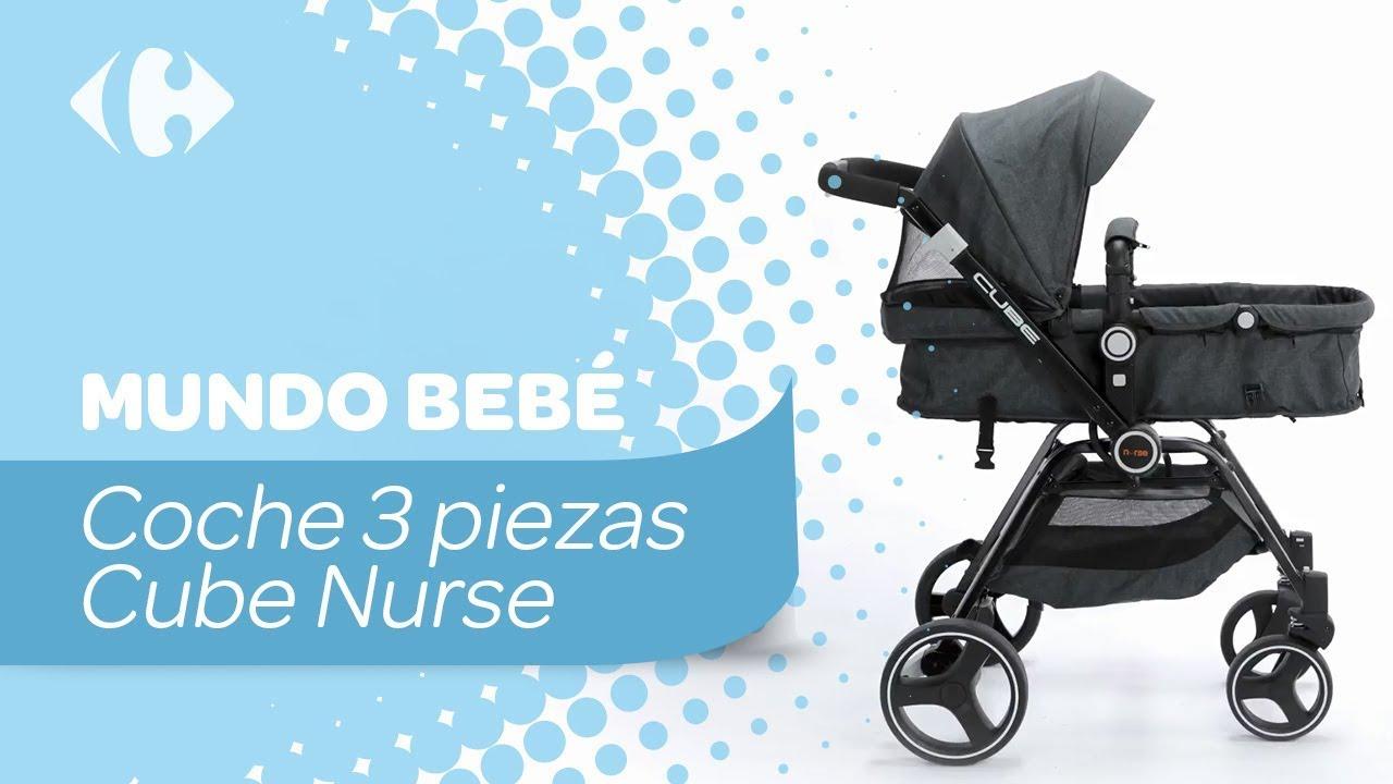 8761dfc6d7a Coche 3 piezas Cube Nurse - YouTube
