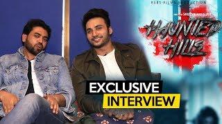 Zuber K. Khan & Director Sanjeev Rajput Exclusive Interview | Haunted Hills