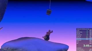 Getting Over It (with Bennett Foddy) speedrun, 5:30.536s