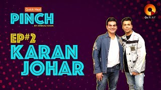 Karan Johar | Quick Heal Pinch by Arbaaz Khan | QuPlayTV