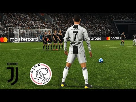 Juventus Vs Ajax | UEFA Champions League (UCL) | PES 2019