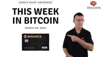This week in Bitcoin - Mar 30th, 2020