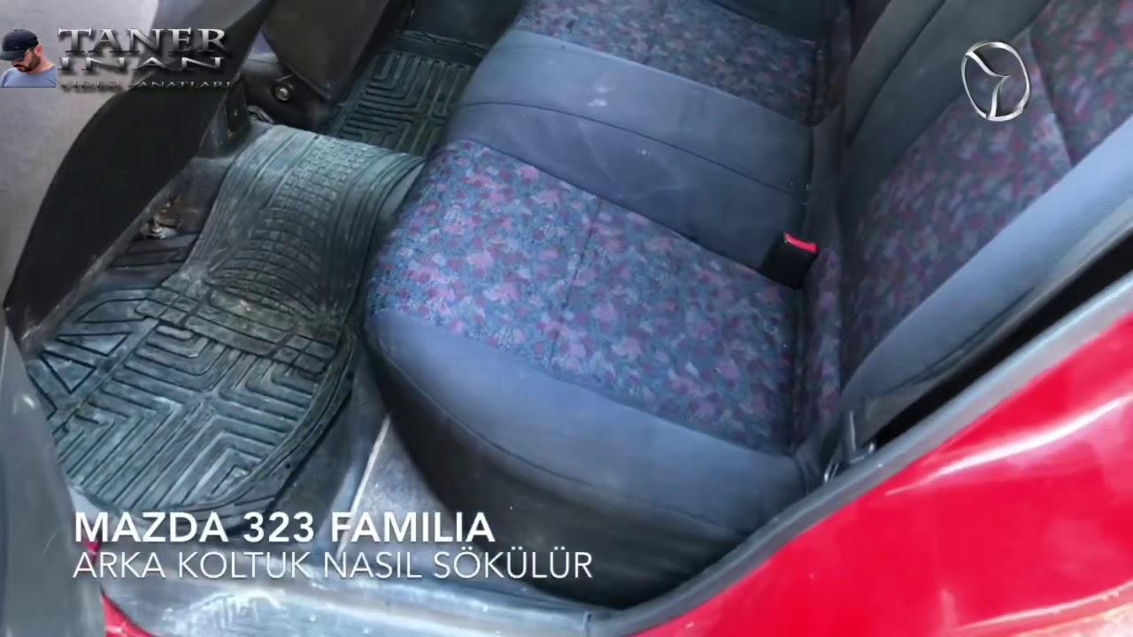 Mazda Arka Koltuk Nasil Sokulur 323 Familia 1998 Model Youtube