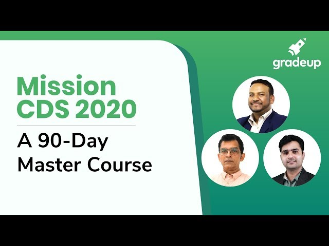 Mission CDS 2020: A 90-Day Master Course