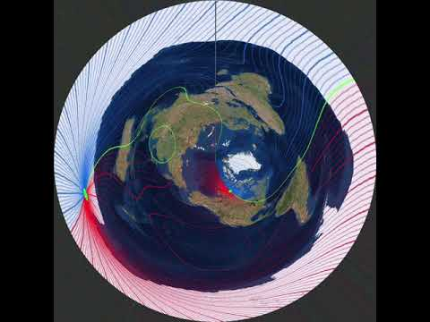 Magnetic Declination On Azimuthal Equidistant Map YouTube - 2017 magnetic declination map of the us