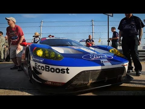 Brembo Brakes On Ford Gt Race Car
