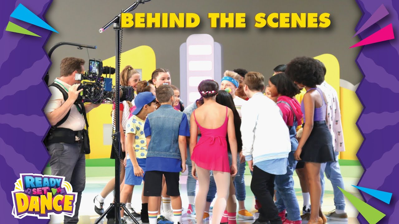 Behind the Scenes / READY SET DANCE / CrewTube / Nick Jr.