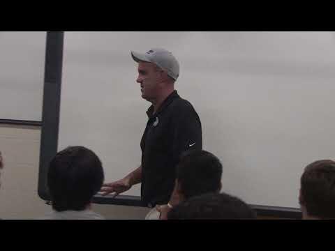 All In Motivational Speech Head Football Coach Bruce Binkley