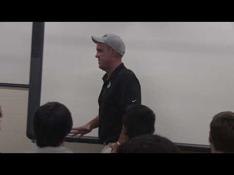 All In Motivational Speech Head Football Coach Bruce Binkley