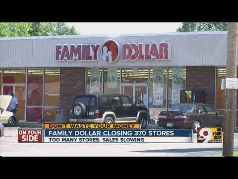 Family Dollar Closing 37 Stores