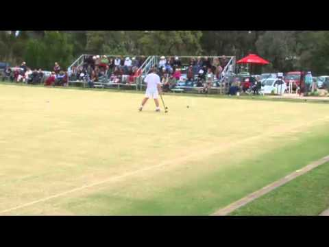 Croquet: Game 1 Bamford vs. Fletcher 2012 Final from Adelaide (3 hours)