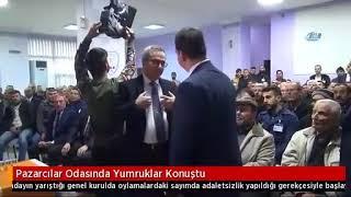 Manisa Pazarcılar Odası Seçimlerinde Yumruklar Konuştu