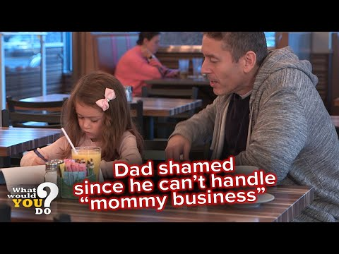 """Tackling the stigma that dads can't handle """"mommy business""""  
