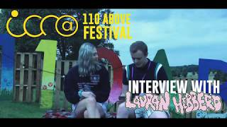An interview with...Lauran Hibberd at 110 Above Festival 2019
