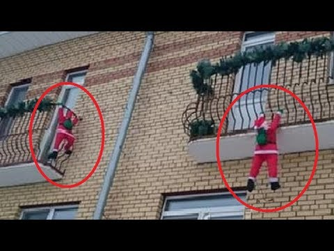 5 SANTA CLAUSES CAUGHT ON CAMERA IN REAL LIFE