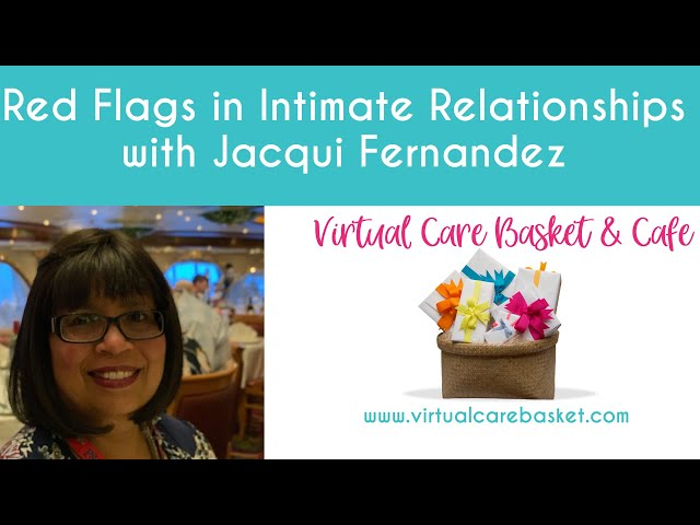 Are you ok - red flags in intimate relationships with Jacqui Fernandez