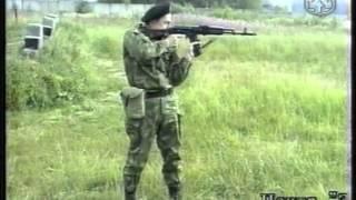 Обучение принятию положения для стрельбы стоя и стрельба стоя АК,СВД .
