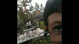 Parker and me on the Trampoline