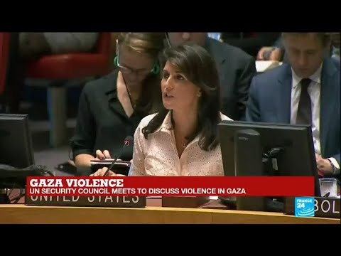"""Nikki Haley on violence in Gaza: Israel acted """"with restraint"""""""
