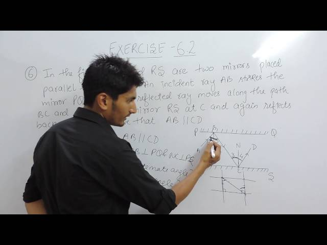 Exercise 6.2 (Lines and Angles) Question 6 NCERT/CBSE Solution for Class 9th Maths