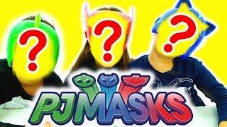 PJ MASKS Fantastica sfida challenge tra Gufetta, Gattoboy e Geco indovina parola!