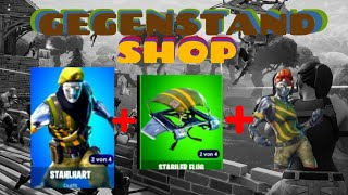 New skins etc. in the setup 👍❌ daily OBJECT-SHOP Fortnite Battle Royale