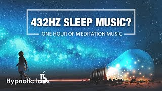 432HZ Meditation Music I The Sound of The Universe I 1 Hour