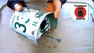 Recycled License Plate Bird House Review Awsome Steam Punk Art