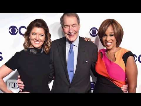 Gayle King Talks to Stephen Colbert About 'Very Painful' Charlie Rose Sexual Misconduct Claims