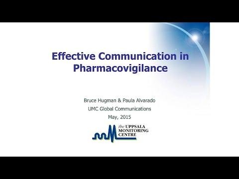 Effective Communication in Pharmacovigilance
