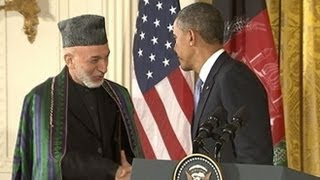 President Obama, Hamid Karzai Announce Early End to US Combat Operations in Afghanistan