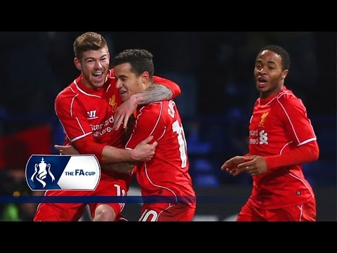 Coutinho wonder goal - Bolton 1-2 Liverpool - FA Cup Fourth Round | Goals & Highlights