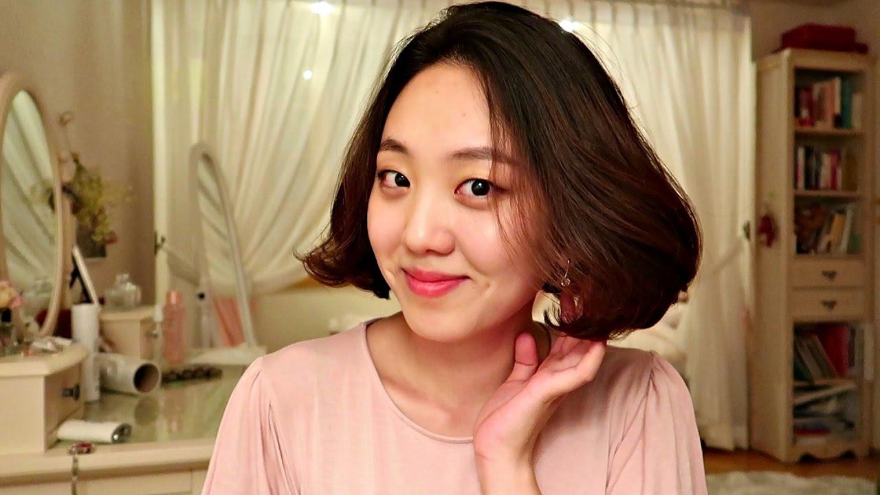 Korean Style Hair Cut Youtube