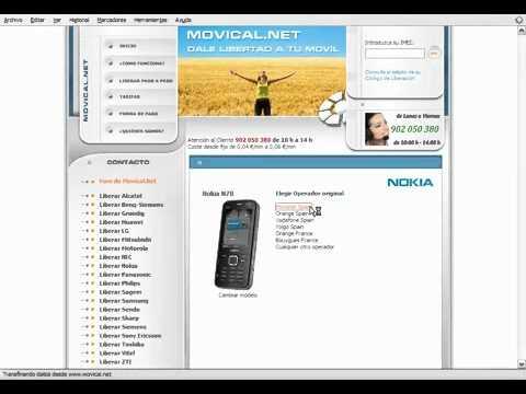 Liberar nokia n78 en movical net youtube - Movical net liberar ...
