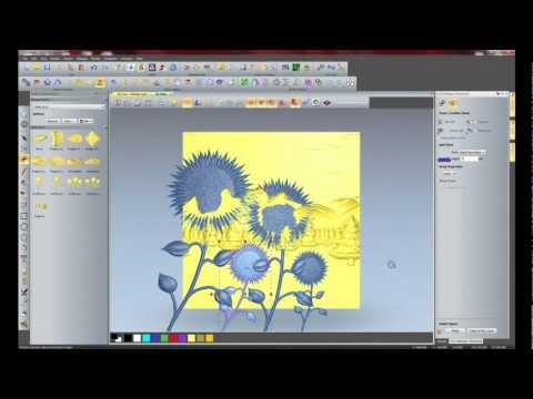 ArtCAM Pro and JewelSmith Modelling Features
