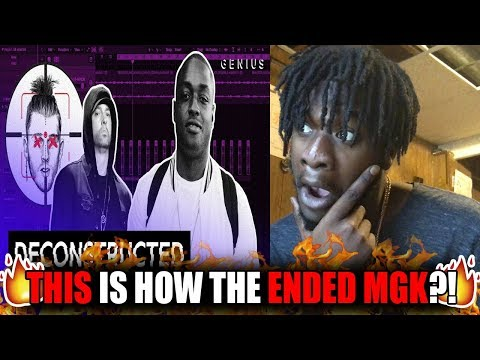 So This Is How They Got MGK?! | The Making Of Eminem's