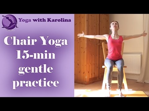 Chair Yoga with Karolina - all levels, beginners, seniors