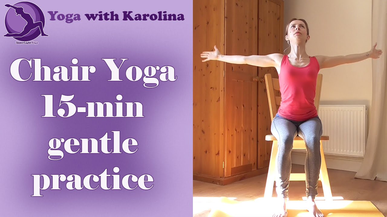 Chair Yoga With Karolina All Levels Beginners Seniors