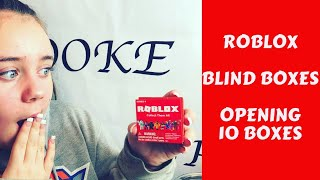ROBLOX BLIND BOXES UNBOXING WHAT CHARACTERS DID I GET