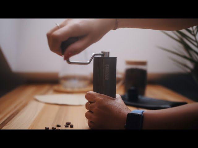 STARESSO Hand Coffee Grinder | COMMERCIAL