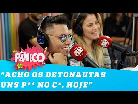 Felipe Araújo revela TRETA com o Detonautas