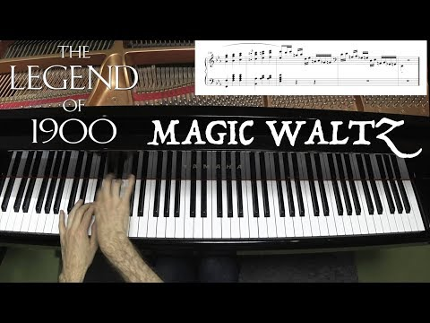 Magic Waltz - Difficult Jazz Piano Arrangement with Sheet Music - Jacob Koller