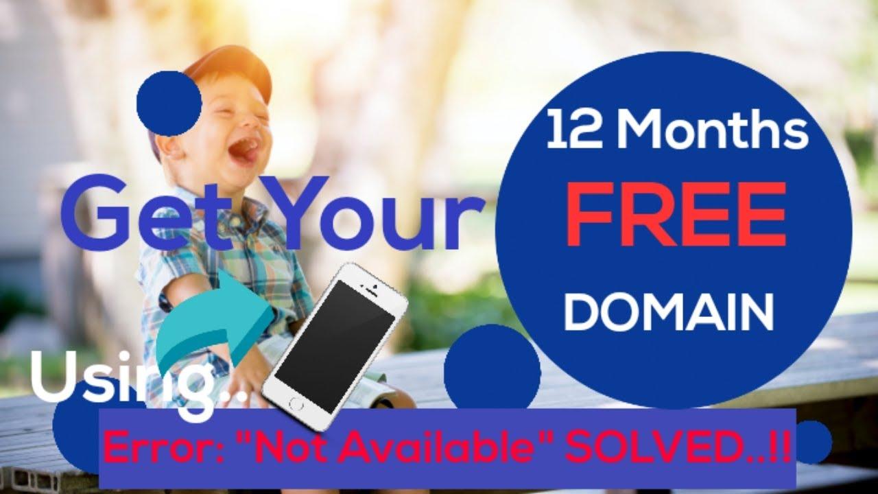 FREE domain name.