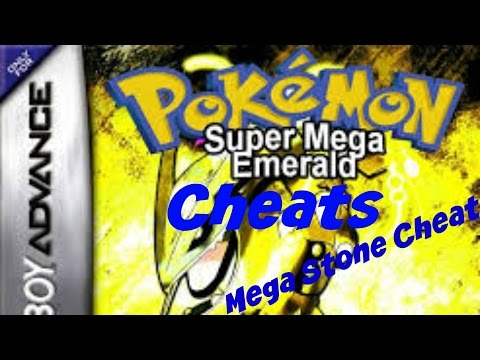 Pokemon Super Mega Emerald Cheats (Mega Stone)