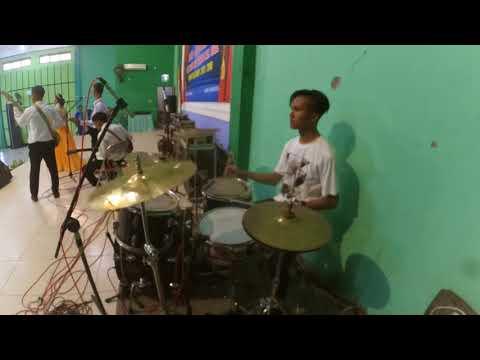 [Drum Cover Cam] Angel 9 Lagu Perpisahan Sekolah - Nafis Frasadewa